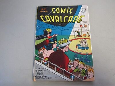 Comic Cavalcade #22 Comic Book 1947