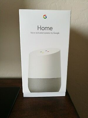 Google Home - White Slate - Google Personal Assistant - BRAND NEW, FAST SHIPPING