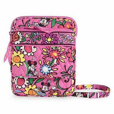 NWT Vera Bradley Disney Mini Hipster in Just Mousing Around Pink Mickey Mouse
