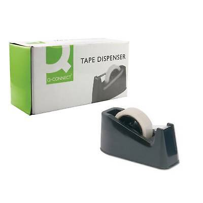 Q-Connect Large Tape Dispenser Black