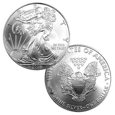 2009 $1 American Silver Eagle Brilliant Uncirculated