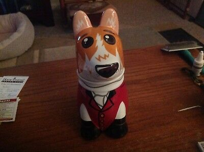 Pembroke Welsh Corgi Cookie Jar - Imported From Germany