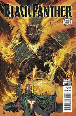 Black Panther 168 Ken Lashley Phoenix Resurrection Variant Nn Legacy Tie