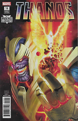 Thanos 14 Razzah Phoenix Resurrection Variant Marvel Legacy Nm Pre-Sale 12/27