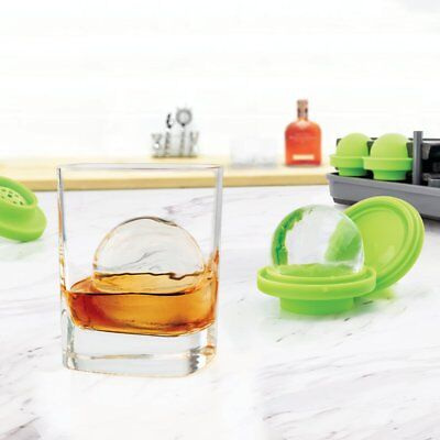 NEW Tovolo Sphere Clear Ice System Set of 4