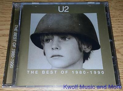 "U2  ""The Best Of 1980-1990"" NEW  (CD, 1998)"