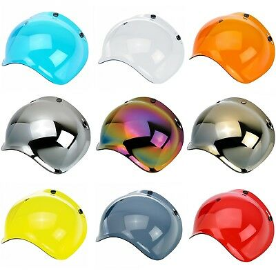 Biltwell Bubble Shield Anti Fog Visor for Bonanza Gringo & 3 Snap Helmets
