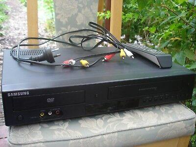 Samsung DVD-V6800 DVD player/VCR combo with remote