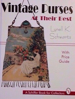 ANTIQUE PURSE VALUE GUIDE COLLECTOR'S BOOK BEADED / MESH ; Richard Holiner