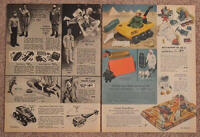 1970 Catalog Ad G I Joe Astronaut Shark Surprise Space Walk Western Town CircleX
