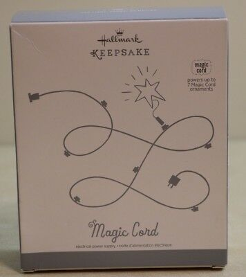 NEW Hallmark Keepsake MAGIC CORD powers up to 7 Magic Cord Ornaments
