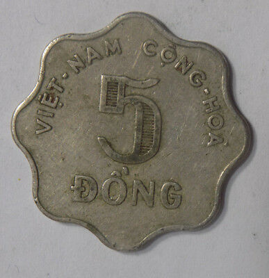 Vietnam (South) 1966 5 Dong Coin