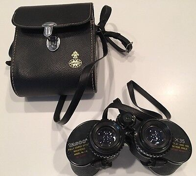 Binoculars ( Vintage Tasco 7X35 cfbl  Great Condition)  Model No. 116