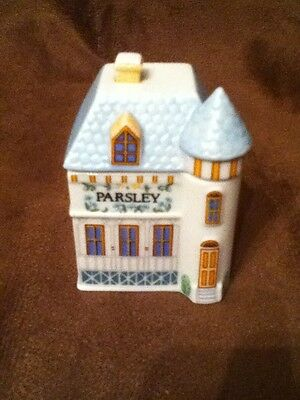 Lenox Spice Village Parsley Spice Jar