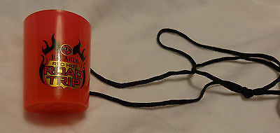 (24) Bacardi Road Trip Shot Glasses on a String....NEW