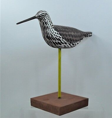 Vintage Folk Art Shore Bird Decoy