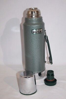 Stanley 1-Quart Green Stainless Steel Thermos Vacuum Bottle w/Handle,USA Aladdin