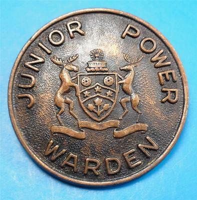 JUNIOR POWER WARDEN MASONIC Pin?/Fraternal-2 MOOSE on CREST Ostranders ME7293