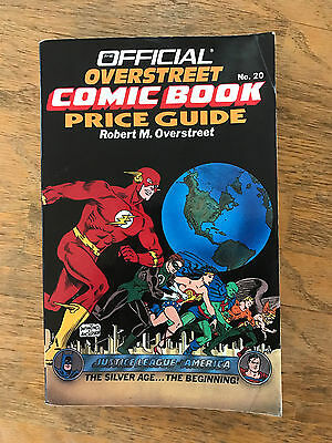 1990 Overstreet Comic Book Price Guide #20 Carmine INFANTINO Murphy ANDERSON Art