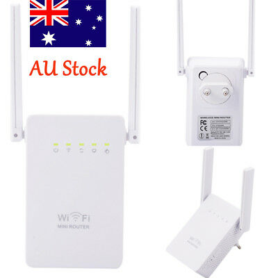 300Mbps Wireless Repeater AP Network Router 802.11N Wifi Extender  Range Booster