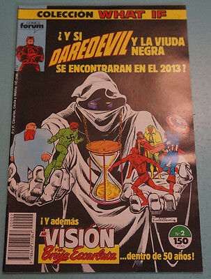 Cómic De:what If-Daredevil,nº 2,año 1989,lote 8