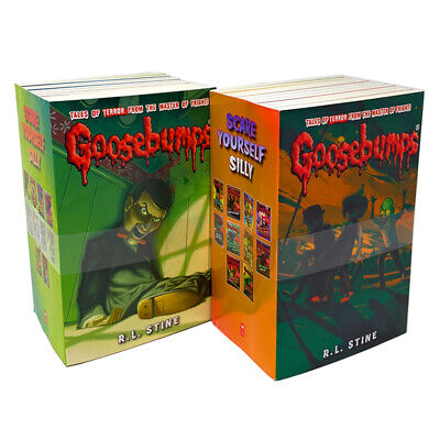 The Classic Goosebumps Series 18 Books Set Collection Childrens Books R L STINE