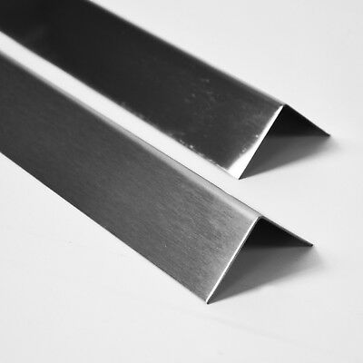 Brushed Stainless Steel Metal Wall Angle Corner Protectors