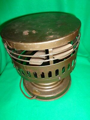 Vintage Circulair Fan Air Flow From The Sides KISCO Hisco Co. St. Louis Mo.