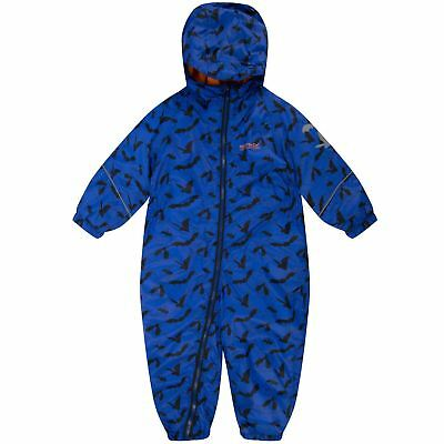 Regatta Kids Boys/Girls Printed Splat All In One Waterproof Suit