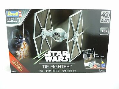 Revell Building Kit Star Wars Tie Fighter 1:65 Bausatz 06051 Limited Edition