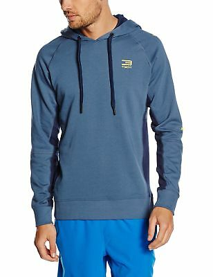 Jack & Jones Tech Men's JJTC2NF Hood2 Men JJTC2NF Sweat Hood2 Bering Sea  Large