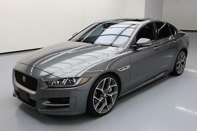 2017 Jaguar XE R-Sport Sedan 4-Door 2017 JAGUAR XE 35T R-SPORT S/C SUNROOF NAV 20'S 8K MI #962320 Texas Direct Auto