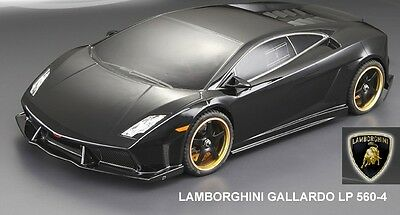 1:10 Lexan Body shell Lamborghini GALLARDO Karosserie (clear+decals)