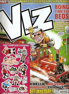 VIZ Issue 268 with Free pointless stickers!