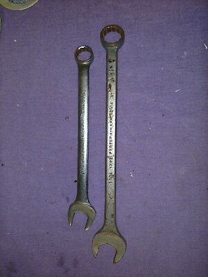 """(2) wrenches PROTO CHALLENGER 6134 1-1/16""""WRENCH  & PROTO *1252* 1-5/16""""  WRENCH"""
