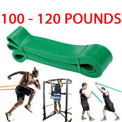 4.4Cm Resistance Exercise Heavy Duty Bands Tube Home Gym Fitness Natural Latex
