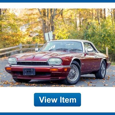 1995 Jaguar XJS  1995 Jaguar XJS 2+2 6.0L Last Year Serviced Low 67K Mi Convertible CARFAX