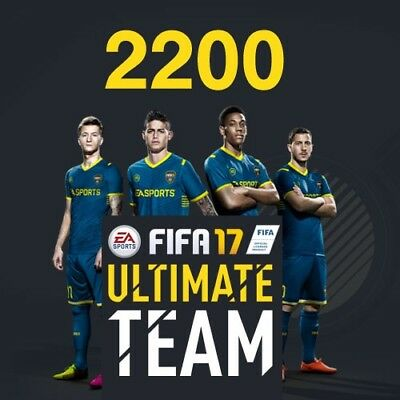 FIFA 17 2200 Ultimate Team Punkte (DLC Only) PC Neu & OVP