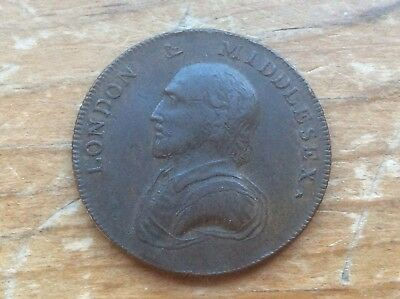 1792 Conder Token Middlesex Half Penny DH-928 lot 22