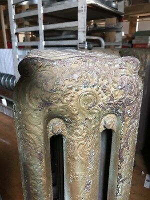 Antique Hot Water Ornate Cast Iron Radiator American Standard Rocco 17 fin