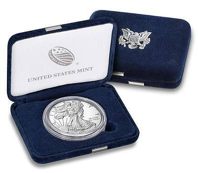 2017-W Proof American Silver Eagle One Ounce Coin Original Mint Box & Coa (17Ea)