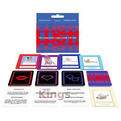 LUST! ADULT CARD GAME FUN SAUCY Passionate GIFT Romance Sex Aid Foreplay Fun
