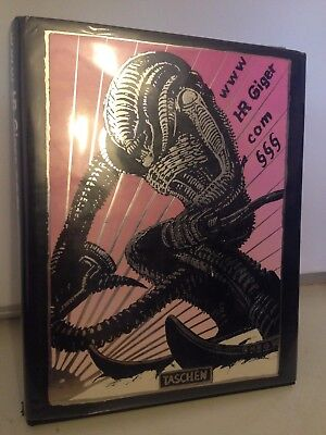 HR Giger Taschen Hardcover Art Book Pre Owned Looks Great!