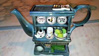 Paul Cardew 2cup Farmhouse Dresser Teapot Collect It! Limited Edition No.220/500