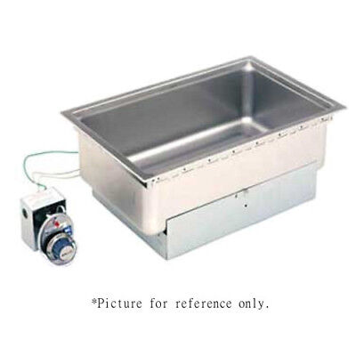 Wells SS-206TD Built-In Top-Mount Food Warmer w/ Thermostatic Controls & Drains
