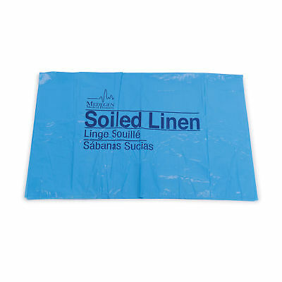 "Soiled Linen Bag 30.5"" x 41"" - Blue - 1.2mil - 20-30gal 250 pk"