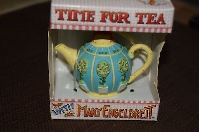 Time For Tea with Mary Engelbreit  EMMA TEAPOT ORNAMENT