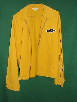 Vintage GOODYEAR Yellow Jacket made by BONNER 1970's era.