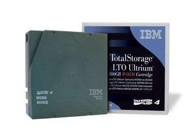 IBM LTO4-800GB/1.6TB DATA CARTRIDGE  (95P4436) x 5 Cartridges
