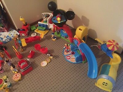 Mickey Mouse Club House Huge Collection Toys
